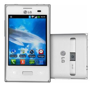 Celular Lg Optimus L3 E400 Branco Com Tela De 3,2