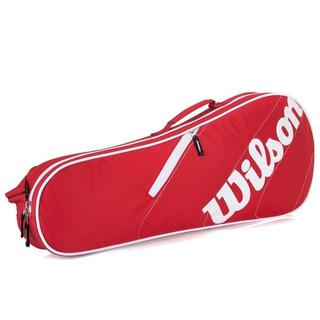 Raqueteira Wilson Esportiva Advantage Team 3 Pack Vermelho