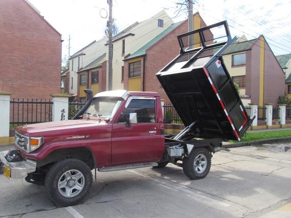 Volqueta Sobre Camioneta Nuevo Gran Capacidad De Carga
