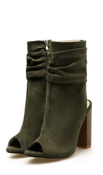Ankle Boot Feminina Eilyken 46720 Importado