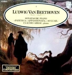 Ludwig Van Beethoven 4 (sonatas De Piano Patética / Appassio