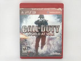 Jogo Ps3 Call Of Duty World At War Mídia Física