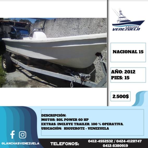 Peñero Nacional Yamaha Lv462