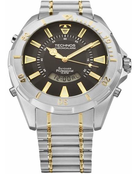 Relógio Technos Skydiver Masculino T205fq/5p