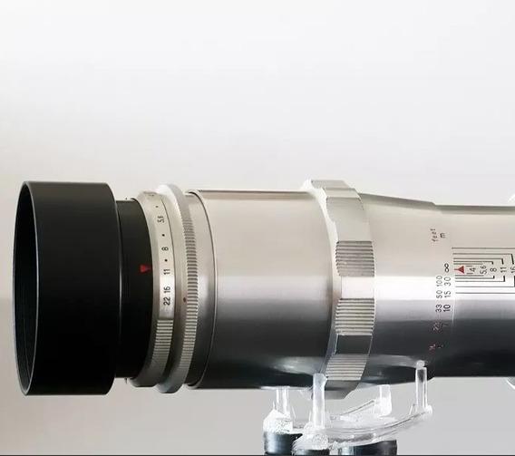 Lente Carl Zeiss 135mm\15 Lamin. +adapt. Canon Ef Ou Sony E