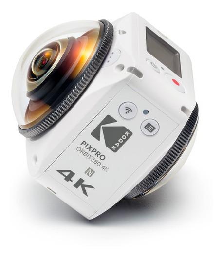 Camera 360 Graus Kodak Vr Pixpro Orbit360 4k Satellite Pack