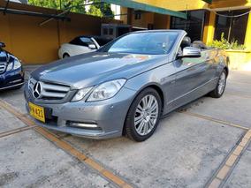 2012 Mercedes Benz E 200 Motor 1.8 Gris 2 Puertas Cabrio