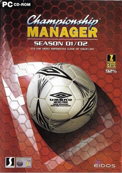 Championship Manager 01/02 Atualizado 2019