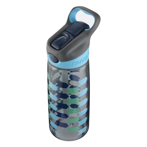 Botella Escolar Para Niños 20 Oz Flechas Azules Contigo