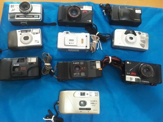 Coleçao De Cameras Analogicas Antigas/10 Cameras Fotografica