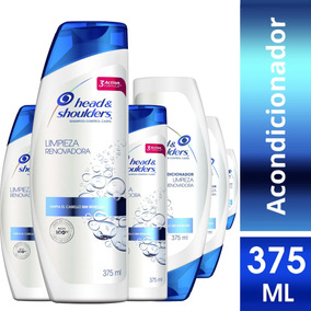 Pack 3 Shampoo + 3 Aco Head&shoulders Renovadora 375ml