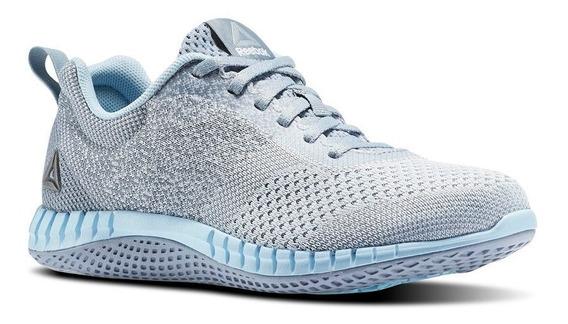 Tenis Reebok Print Run Prime Mujer Gris-azul