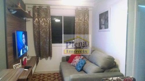Imagem 1 de 18 de Apartamento  Residencial À Venda, Residencial Anauá, Hortolândia. - Ap0588