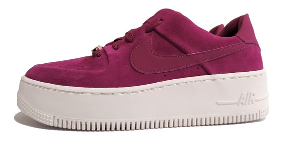 Tenis Nike Air Force 1 Sage Low Talla #24.5cm, Pambo_tenis
