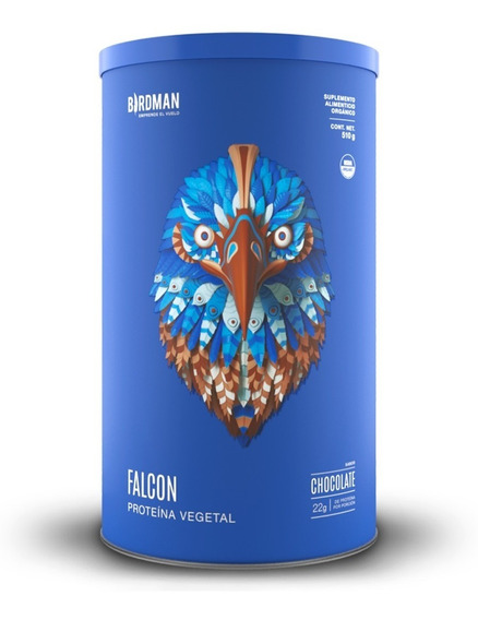 Proteína Falcon Protein 510gr 1.12lb Birdman Usda Kosher