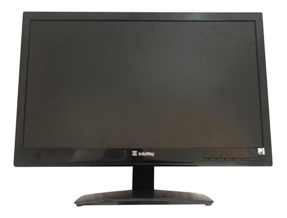Monitor Vga Led 20 Polegadas Itautec E2041 Promoção Novo