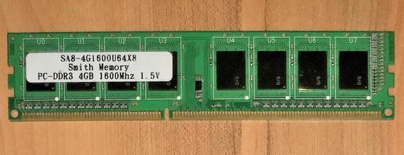 Memória 4gb Ddr3 1600mhz