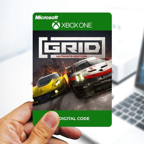 Grid Ultimate Edition - Cartão 25 Dígitos - Xbox One