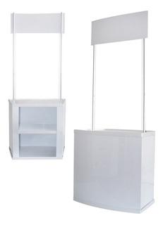 Modulo Stand Qa Desk Portatil Tipo Hercules C/mochila Pro