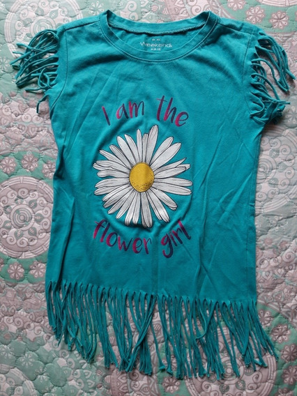 Blusa Flower Girl De Niña Weekend Talla M 8-10