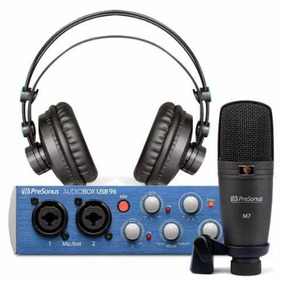 Kit Home Studio Presonus Audiobox Com Software Studio One