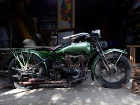 Harley Davidson 1927 27fd 1200 Cc