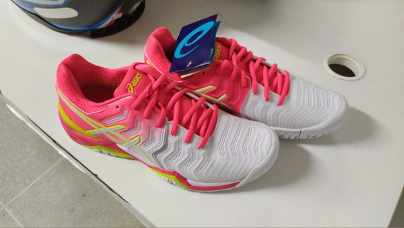 Tênis Asics Gel-resolution 7 - Rosa