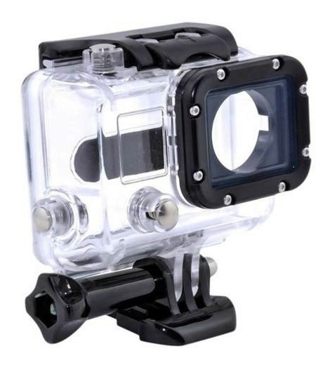 Case Protetor Acrilico Gopro Camera Hero 3 3+ 4 Transparente