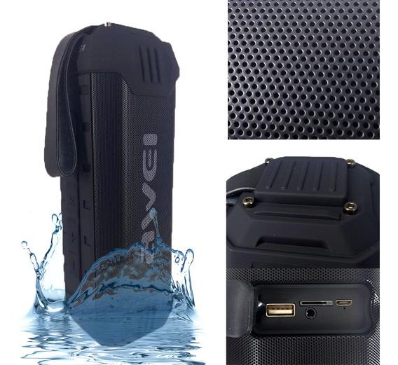 Caixa De Som Portátil Bluetooth Usb Power Bank Awei Y280