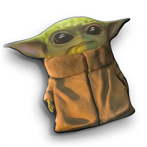 Cojín Peluche Baby Yoda Star Wars 40cm Aprox Vudú Love