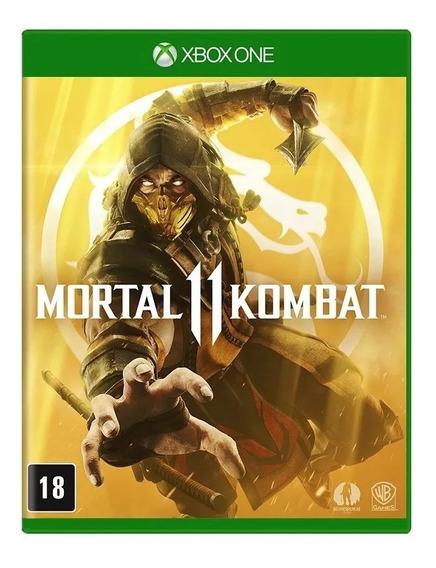 Mortal Kombat 11 - Xbox One - Novo - Mídia Física Lacrado