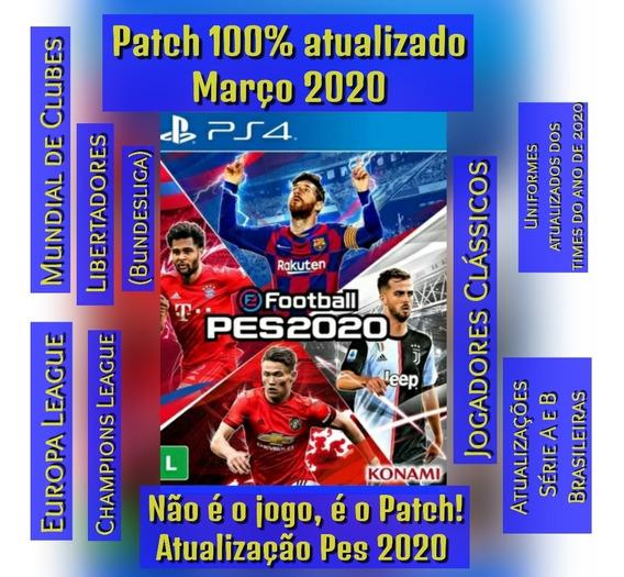 Patch Pes 2020- Atualização Pes 20-atualizado-envio Imediato