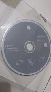 Disco De Instalacion 1 Computadora Mac Os Version 10.5.4