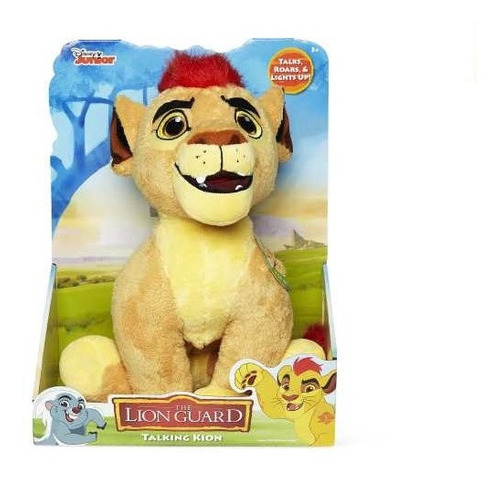 Imagen 1 de 3 de Lion Guard Kion - Bunga Sonidos Y Luz Peluche Guardia Leon