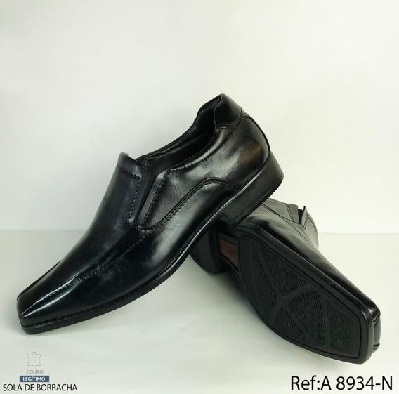 Sapato Social Masculino De Couro Fork - Ref: 8934