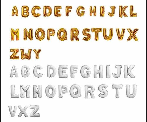 Imagem 1 de 1 de 7 Un Bexigas Gigante Letras Ou Números ( 100 Cm ) 1 Metro