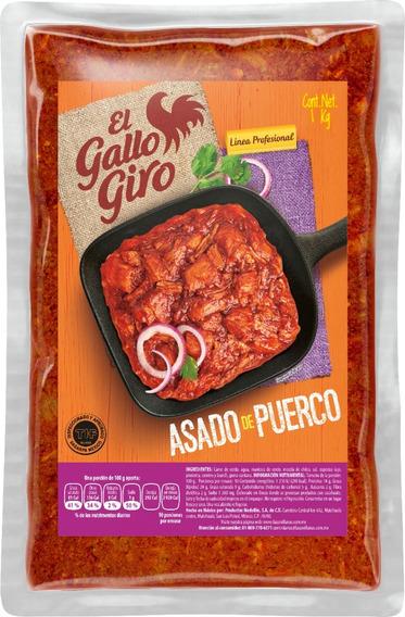 Asado De Puerco, Two Pack, Paquete Con Dos Bolsas De Un Kilo