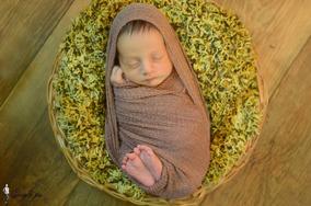 Tecido Com Elastano P/ Fotografia Newborn Várias Cores