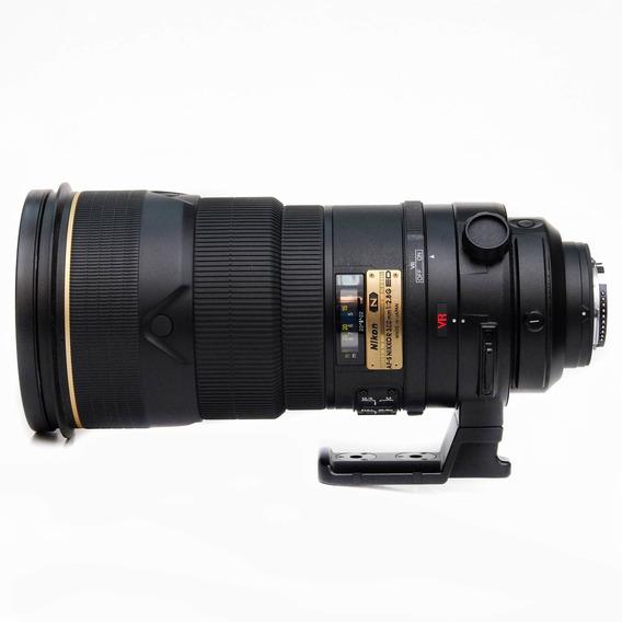 Objetiva Nikon Af-s 300mm F/2.8g Ed (n) Vr - Seminova