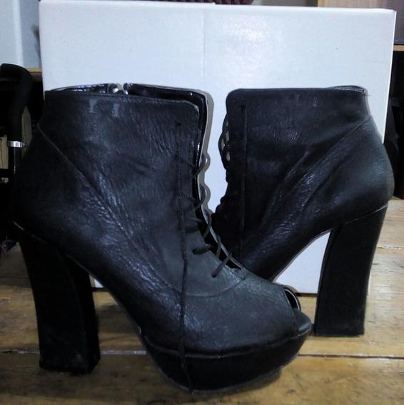 Zapatos Boca De Pez