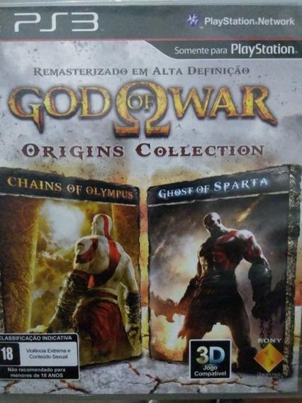 God Of War Origins Collection Ps3 Mídia Física