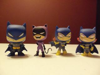 Set Figuras Batman Dc Comics Mystery Minis Funko