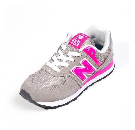 Zapatillas New Balance Niña Pc574gp Envíos País Gratis