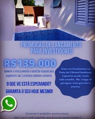 Casa  - Itanhaém/sp - Cibratel 2 7526 Gtavo