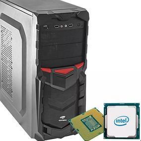 Pc Cpu Intel Hd 500 4gb Ram Gabinete Gamer Novo..
