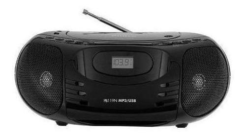 Radio Cd/mp3/usb Pb119n Preto .philco 29050