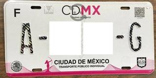 Renta Placas Para Taxi Cdmx
