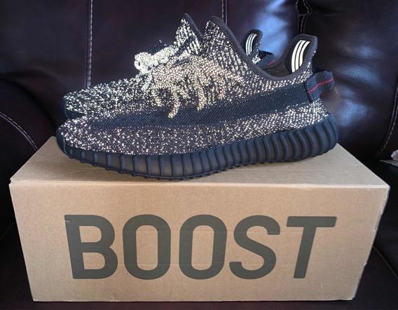 Yeezy Boost 350 V2 Black Reflective