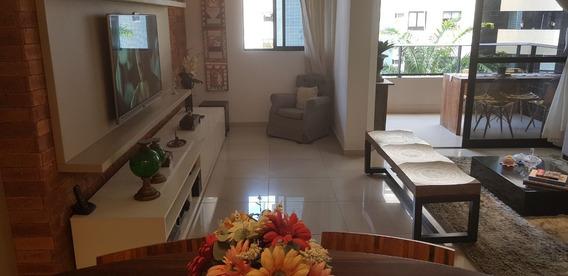 Apartamento Luxo Na Ponta Verde, 134,24 M2, A Duas Quadras Do Mar, Nascente. Área 134,24 M2, A Duas Quadras Do Mar, Varanda, 2 Suítes, Closet E Ga - Wma1381
