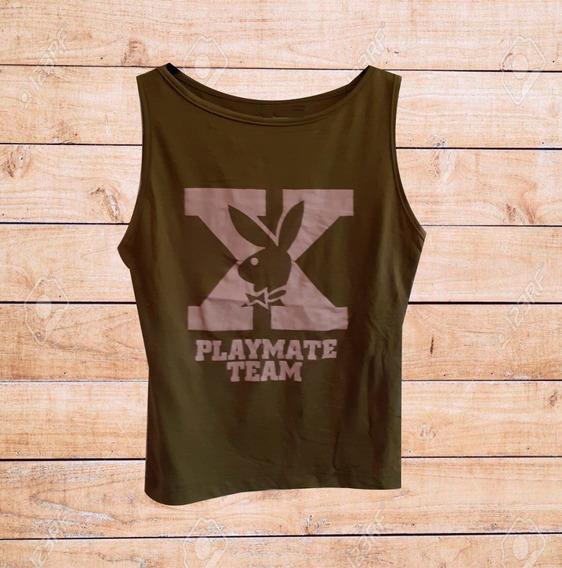 Remera Musculosa Play Boy Playboy